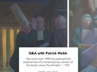 Q&A with Patrick M Webb