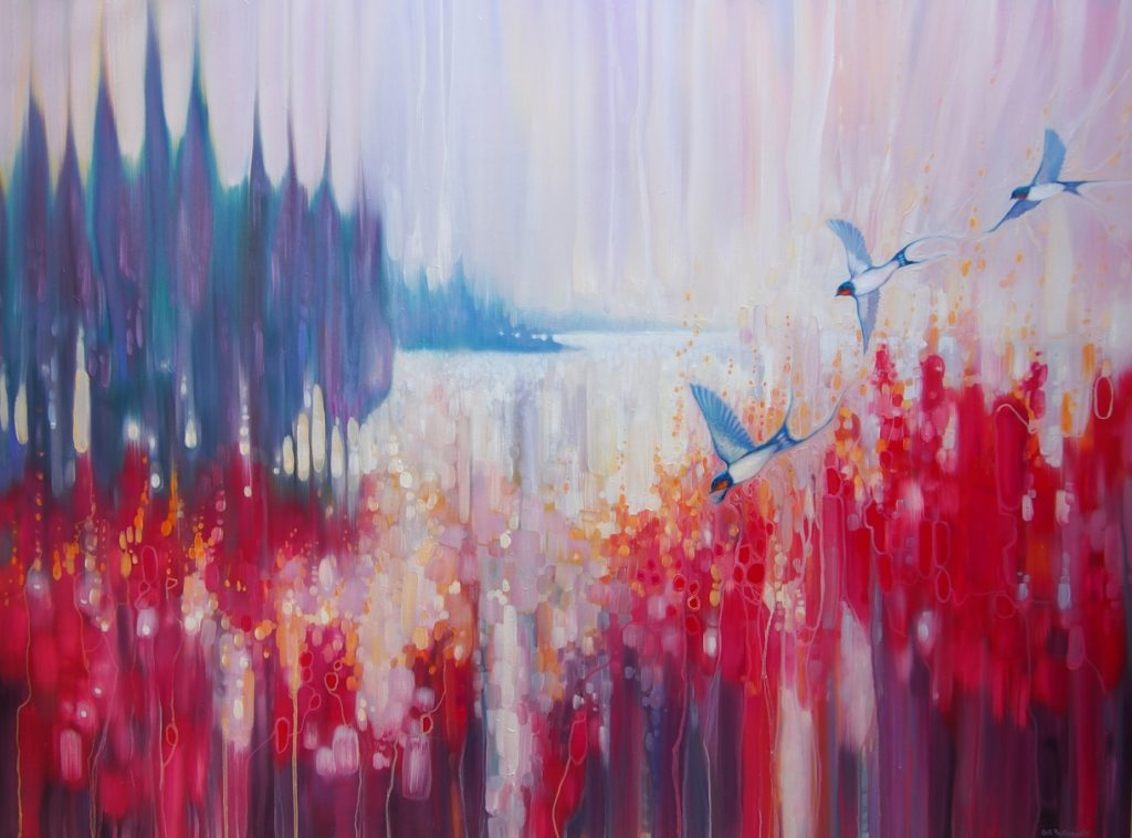 Gill Bustamante - Artist at Sussex Paintings
